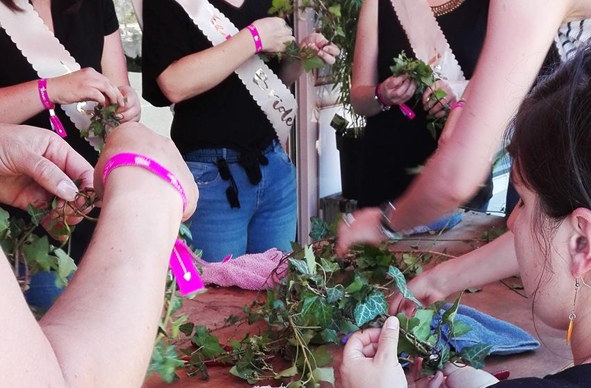 Atelier d'art floral EVJF