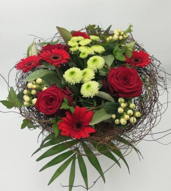 bouquet-rond-rouge-et-blanc-artisan-fleuriste-le-mans-livraison-a-domicile